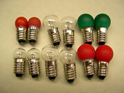 Bulb Asstortment For American Flyer Trains And Accessories