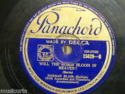 78 Rpm Norman Blair Will The Roses Bloom In Heaven / Take Me Back To The Garden