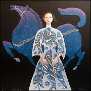 Lin Chong Year Of The Horse Hand Signed Serigraph On Paper Submit Offer