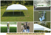 10and039 X 20and039 Master Series Frame Tent White Wedding Tent Party Canopy