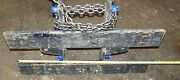 2773312 Carriages Clark 41 Wide 20 Height Fork Bar1 1/2 Thick Class 3 Iii