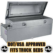 Diesel Fuel Auxiliary Fuel Tank And Toolbox Combo - Your Choice Gallon Capacity
