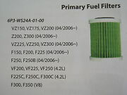 Yamaha 6p3-ws24a-01-00 Fuel Filter 150-250 Outboard Motor Part See Pic For Appl