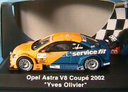 Opel Astra V8 Coupe 19 Deutsche Touring 2002 Yves Olivier Schuco 04806 1/43