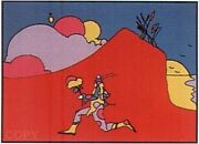 Peter Max Coming Into Red Make Offer Dsstd