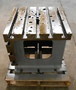 T-slot Table, 21 1/2 Length, 21 1/2 Width, 21 3/4 Height