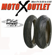Michelin Pilot Power 2ct Motorcycle Tires 120 And 180 17
