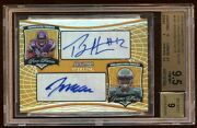 Bgs 9.5 Percy Harvin Jeremy Maclin Rc Dual Auto /125 Gold Refractor B. Sterling