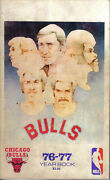 1976-77 Chicago Bulls Basketball Media Guide Artis Gilmorenorm Van Lier Fair