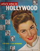Who's Who In Hollywood 1949 Issue-esther Williams Cover-1000 Pix And Mini Bios