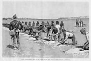 Frederic Remington United States Army Entrenchment Drill Camp Eagle Pass Texas