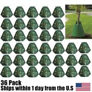Tree Watering Bag 20 Gallon Green Slow Release Irrigation Young Tree Water 36pk