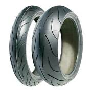 Pair Of Michelin Pilot Power 2ct Motorcycle/bike Tyres - 120/70/17 And 180/55/17