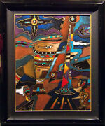 Neal Doty Queen Mixed Media Board Original Hand Signed Art Submit Best Offer