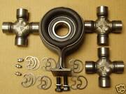 68 69 Chevy Pick Up Truck C10 U Joints + Hanger Bearing Kit + 3 Universal Joints