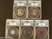 1953 Proof Set Anacs Graded Gems With 2 Cameos