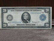 1914 20 Federal Reserve Bank Of Cleveland Note-decent Note-free Ship