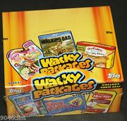 2013 Wacky Packages Series 11 Hobby Box Sealed 24pks Magnets Sketch