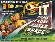 3360.it Came From Outer Space Horror Movie Film Poster.home Room Art Decorate