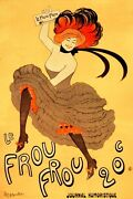 2979.le Frou Journal Humoristique Poster.french.red Yellow Home Art Decoration