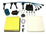 Tune Up Kit Honda Crv 1997 To 1999 Filters,wires,spark Plugs,distributor Cap