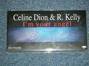 Celine Dion R.kelly Japan 1998 Mint Tall 3 Inch Nm Cd Single I'm Your Angel