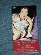 Celine Dion Japan 1996 Mint Un Openedtall 3single Cd Because You Loved Me