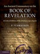 Ancient Commentary On The Book Of Revelation A Critical Edition Of The Scholia