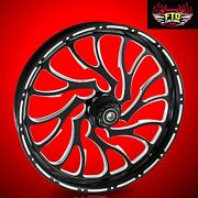 Harley Davidson Electra Glide 21 Inch Front Wheel Nightmare By Ftd Customs