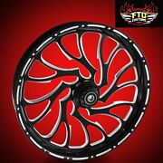 Harley Davidson Road Glide 26 Inch Front Wheel Nightmare By Ftd Customs