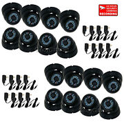 16x Dome Security Camera Outdoor Ir Day Night Vision Ccd Home Video W/ Power C1m