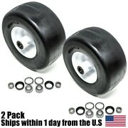 Front Solid Tires Puncture Proof No Flat 13x6.5x6 For Scag 482504 2 Pack