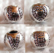 Surrounded By Love Authentic Pandora Pink Cz/silver Valentine 2014 Charmbead