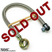 1965-76 Mgb Mgc Gt Stainless Braided Flexible Fuel Hose For Fuel Pump