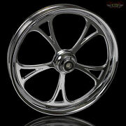Harley Davidson 21 Inch Custom Front Wheel And Tire By Ftd Customs The Cyclone