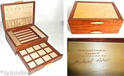 Mike Fishersand039 Heartwood Creations Cascade Ii Collection 2 Drawer Jewelry Box