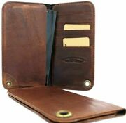 Genuine Real Leather Case For Samsung Galaxy S4 S 4 Book Wallet Handmade S3 3 Uk