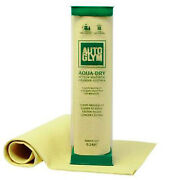 Autoglym Aqua Dry Hi Tech Synthetic Chamois Leather Absorbent Cleaning Cloth