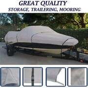 Towable Boat Cover For Alumacraft Bandit V-170 O/b All Years