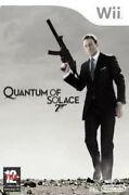 Wii James Bond 007 Quantum Of Solace W/ Book And Case Tested