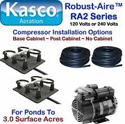 Kasco Aeration Robust-aire Kit Ra2nc Ponds For To 3.0 Surface Acres 120v