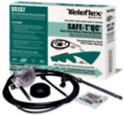 New Teleflex Safe-t Qc Rotary Boat Steering System 9and039 Tel Ss13709