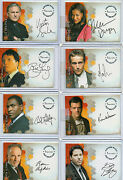 Alias Seasons 1,2,3 And 4 Autograph And Pieceworks Card Selection Nm Inkworks