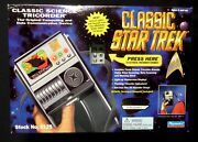 Star Trek Classic Science Tricorder Actual Lights And Sounds From Tv Show New 1995