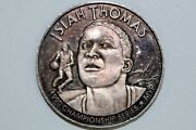 1990 Isiah Thomas Championship Series One Troy Ounce Silver Round Num1049