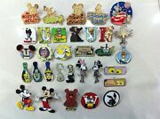 1000 Mickey Disney Collectible Trading Pins Lot 100 Tradable Hm Cast Le