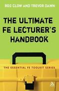 The Ultimate Fe Lecturer's Handbook By Ros Clow English Paperback Book Free Sh