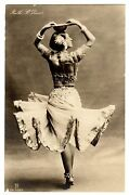 Original Postcard Ruth St. Denis Modern Dance Pioneer Indian Dance