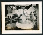 C. 1910 Cheese Making Dipping Curd Broadhead Wisconsin Vintage Photo