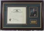 William H. Taft - Document Signed As President Ds, Framed, Autograph